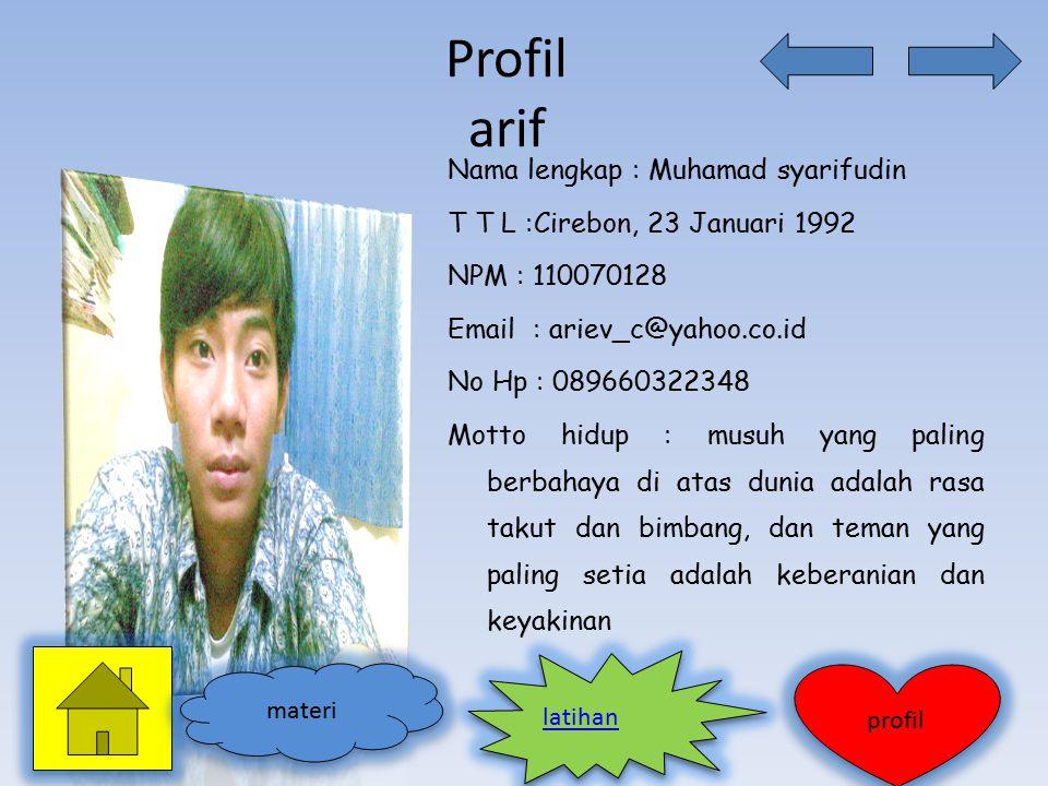 Profil arif