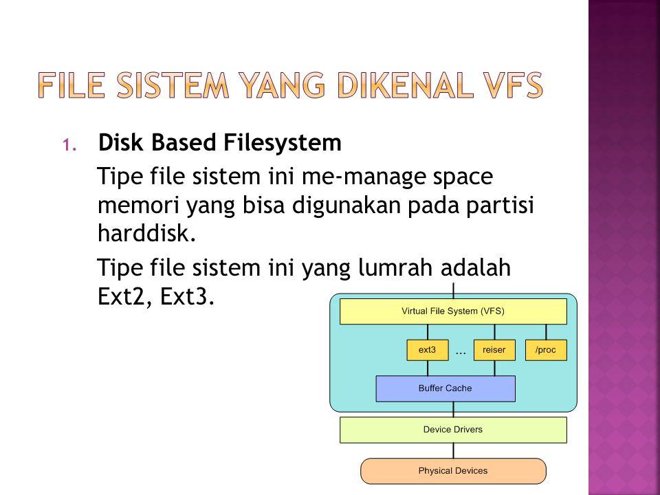 FILE sistem yang dikenal vfs