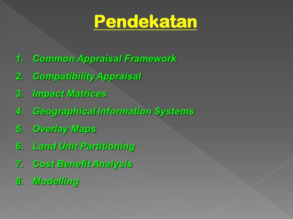 Common Appraisal Framework