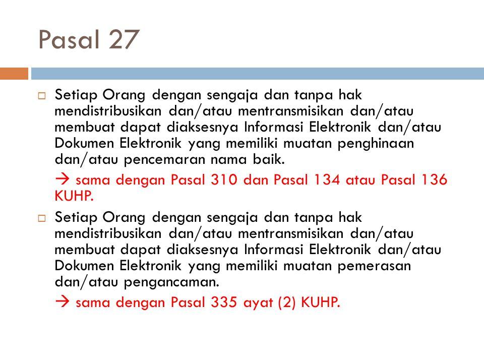 Pasal 27