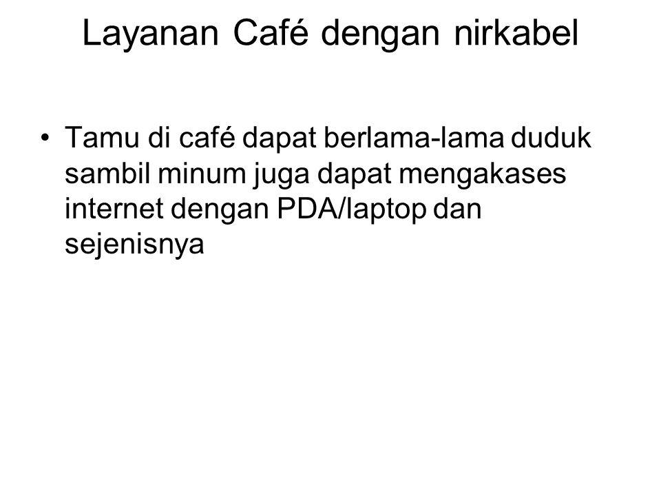 Layanan Café dengan nirkabel