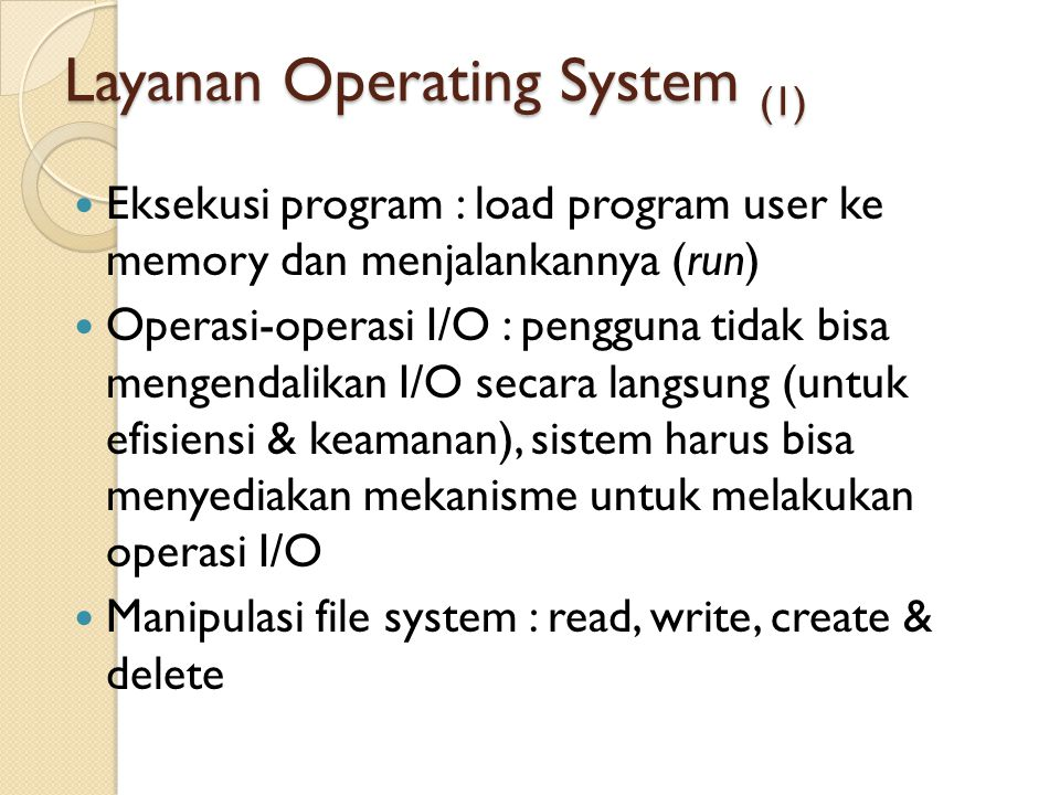 Layanan Operating System (1)