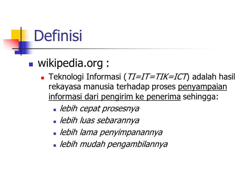 Definisi wikipedia.org :