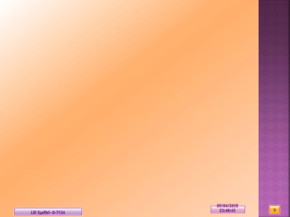 10/04/2017 8:09:2210/04/2017 8:09:22 Lili Syafitri--D-7134