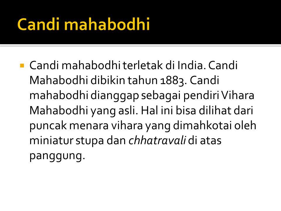 Candi mahabodhi