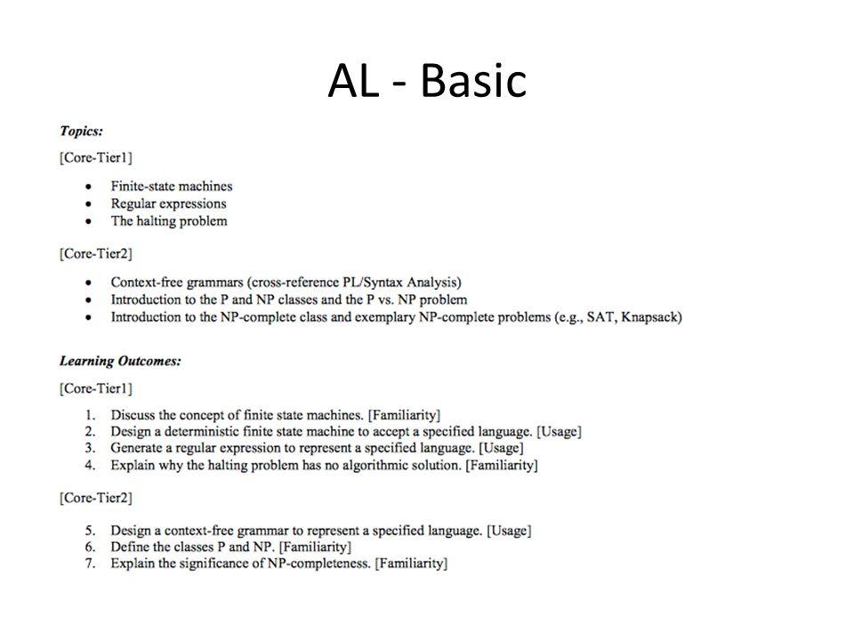 AL - Basic