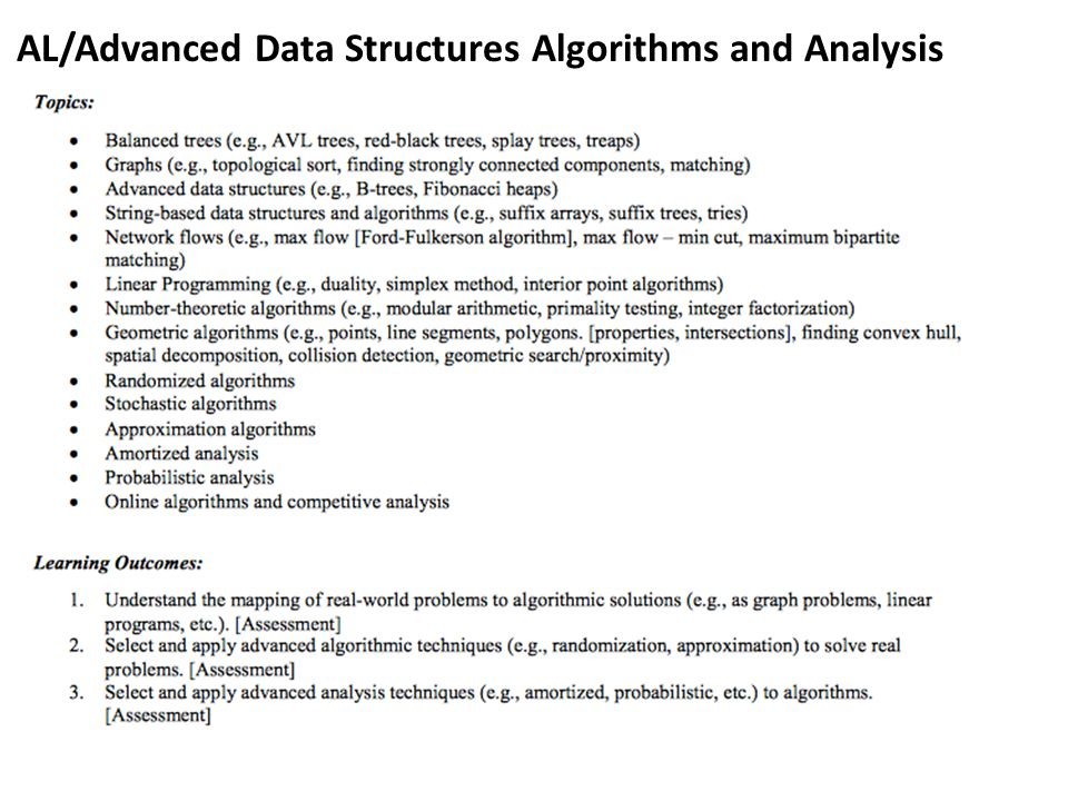 AL/Advanced Data Structures Algorithms and Analysis