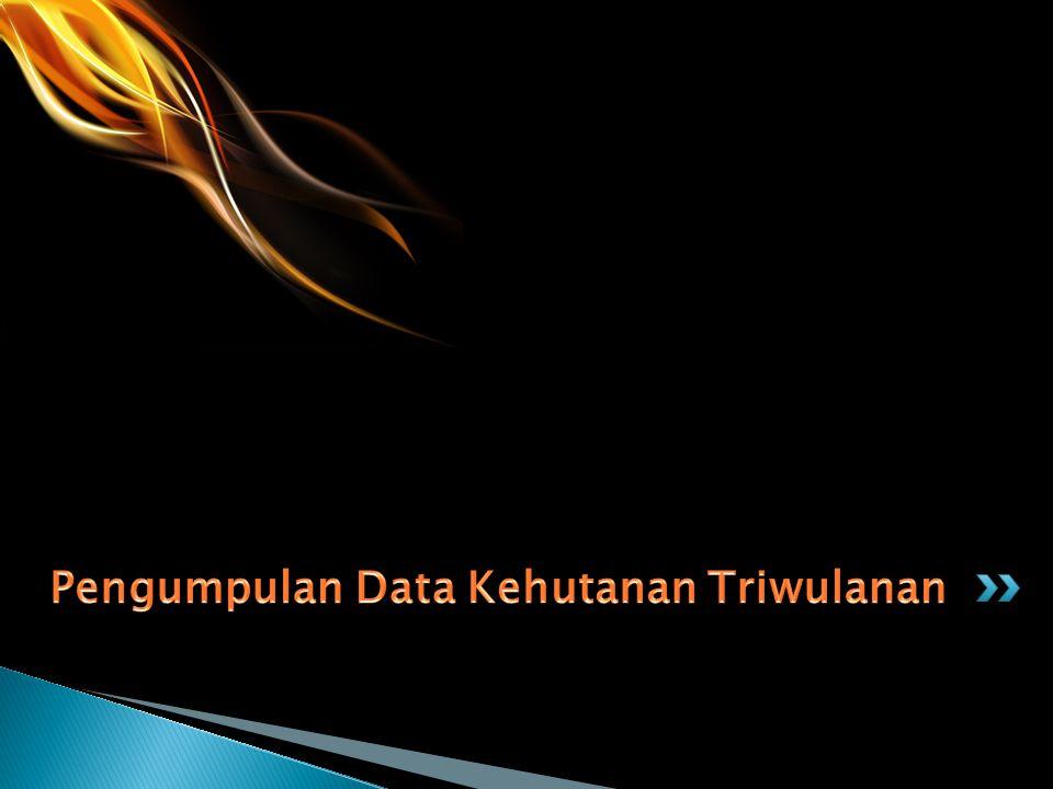 Pengumpulan Data Kehutanan Triwulanan