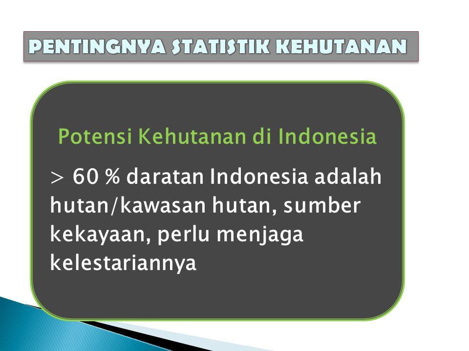 Potensi Kehutanan di Indonesia