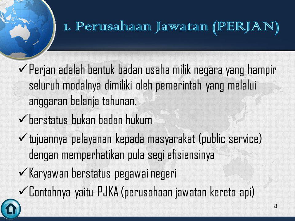 1. Perusahaan Jawatan (PERJAN)