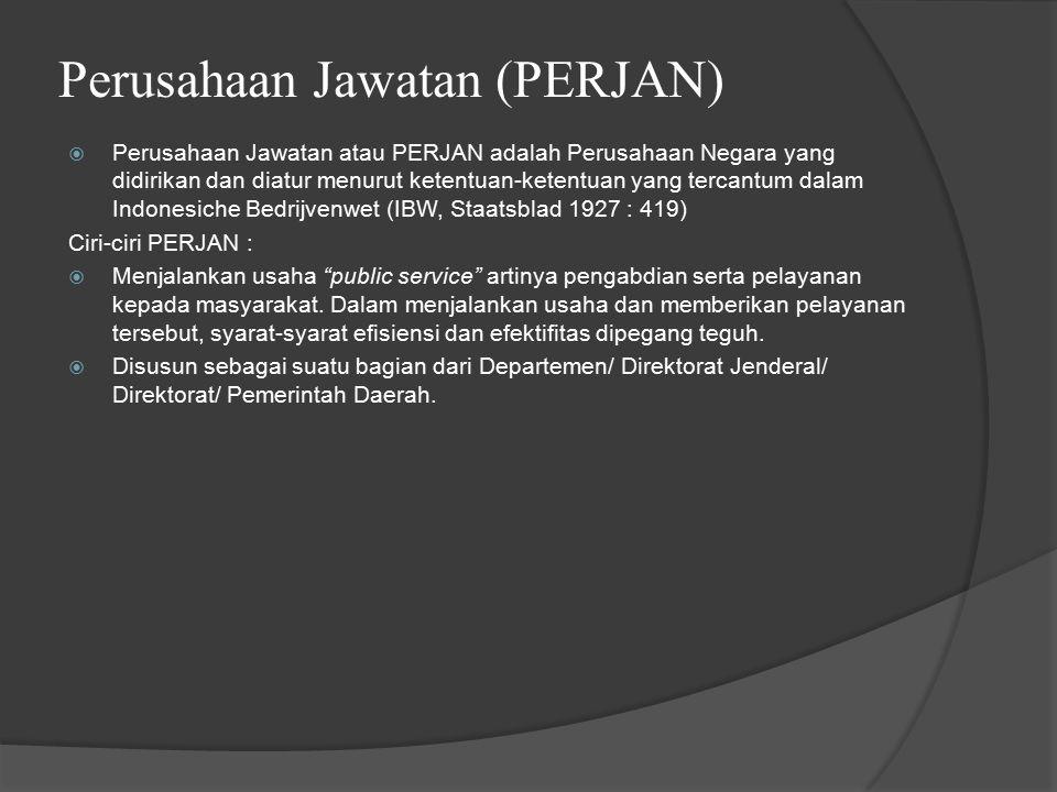 Perusahaan Jawatan (PERJAN)