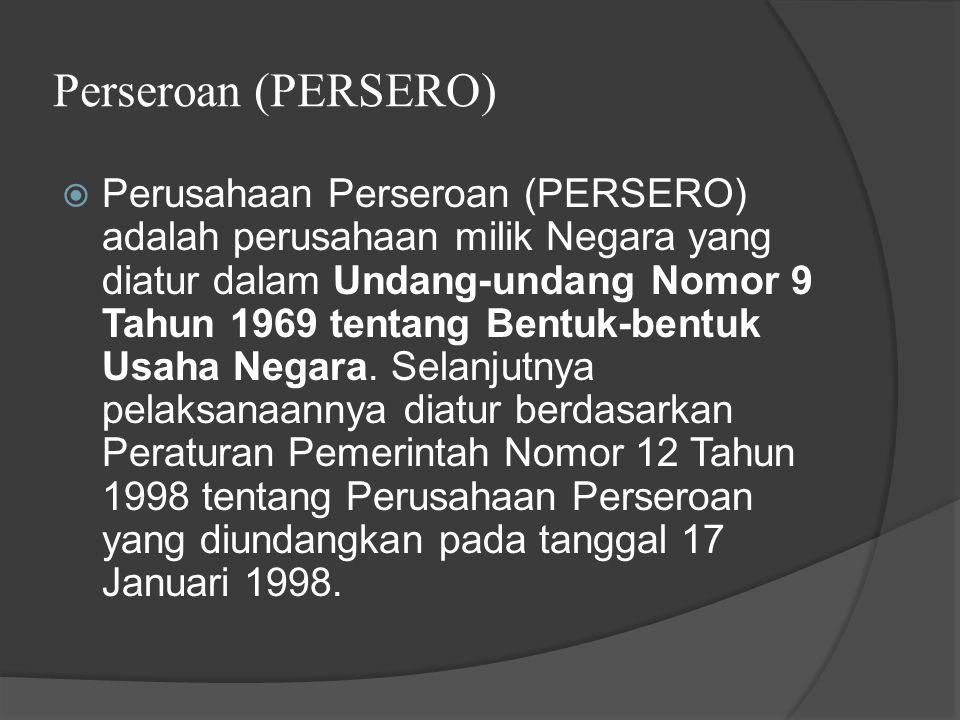 Perseroan (PERSERO)