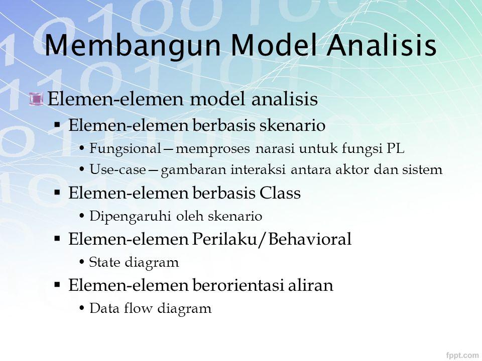 Membangun Model Analisis
