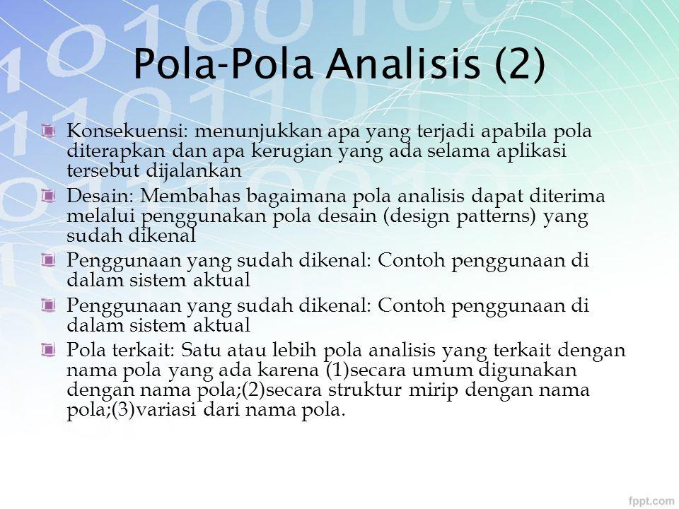 Pola-Pola Analisis (2)