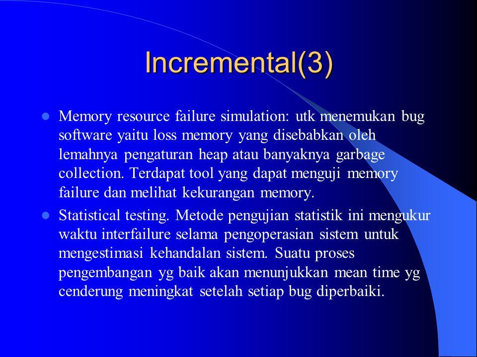Incremental(3)