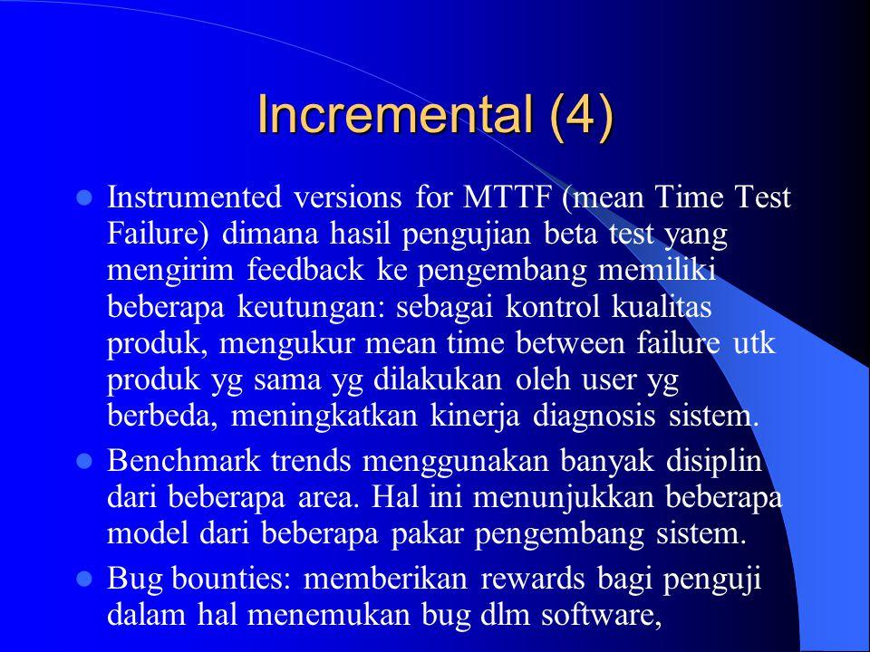 Incremental (4)
