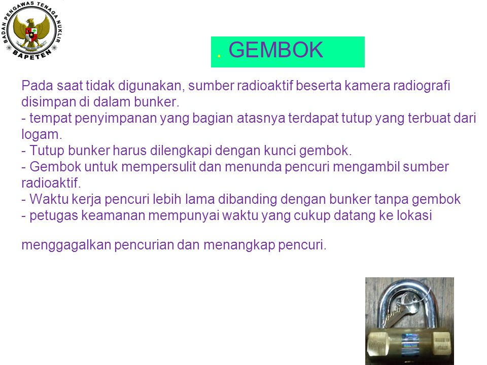 . GEMBOK
