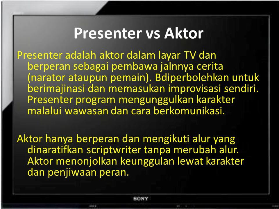 Presenter vs Aktor