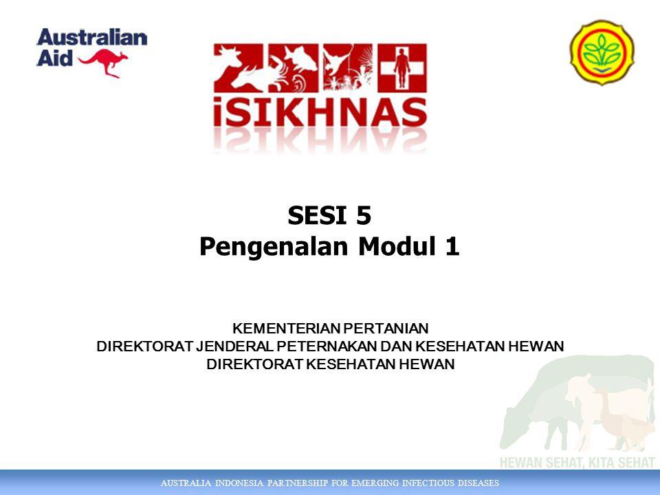 SESI 5 Pengenalan Modul 1 KEMENTERIAN PERTANIAN