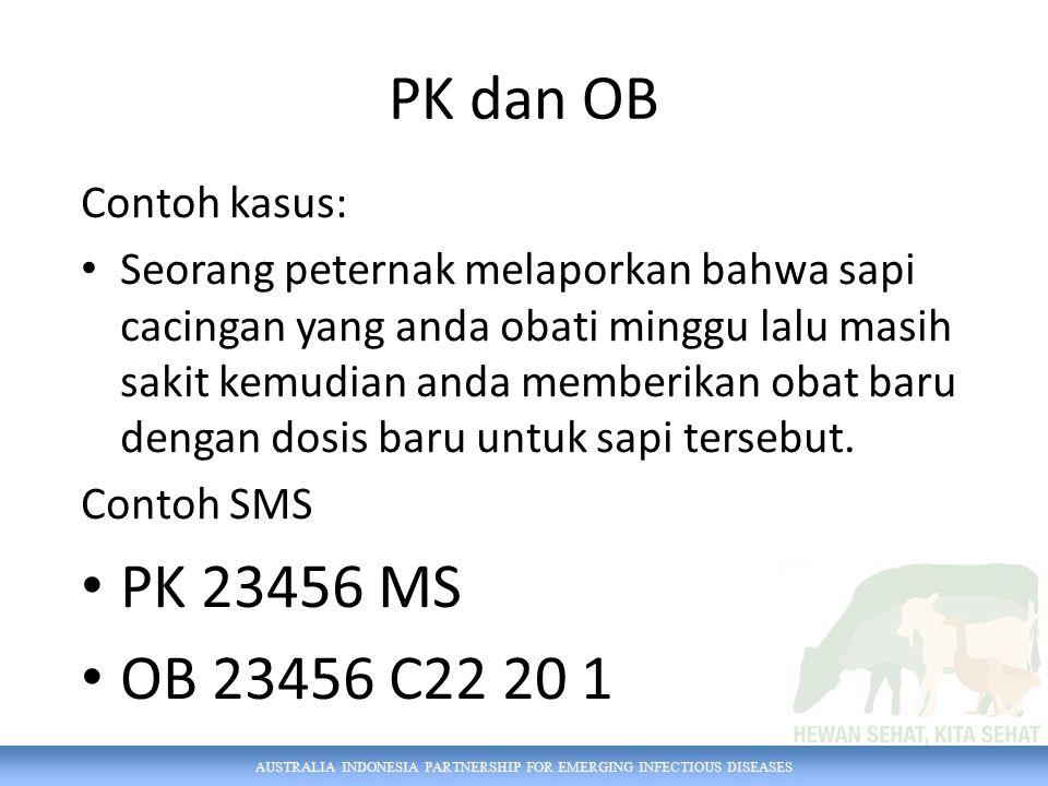 PK dan OB PK 23456 MS OB 23456 C22 20 1 Contoh kasus: