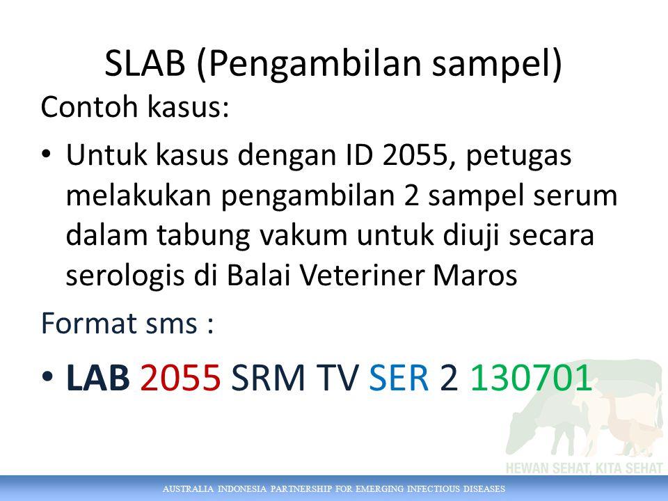 SLAB (Pengambilan sampel)