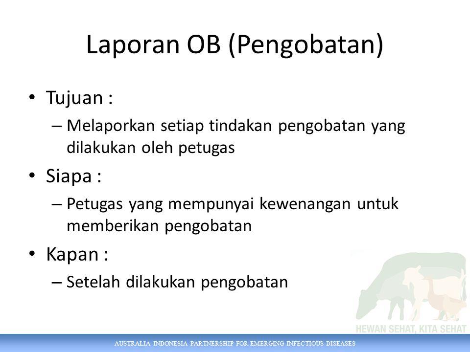Laporan OB (Pengobatan)