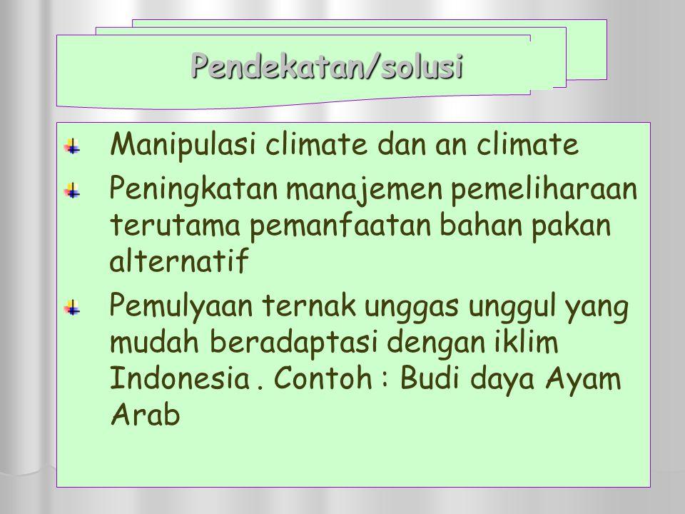 Manipulasi climate dan an climate