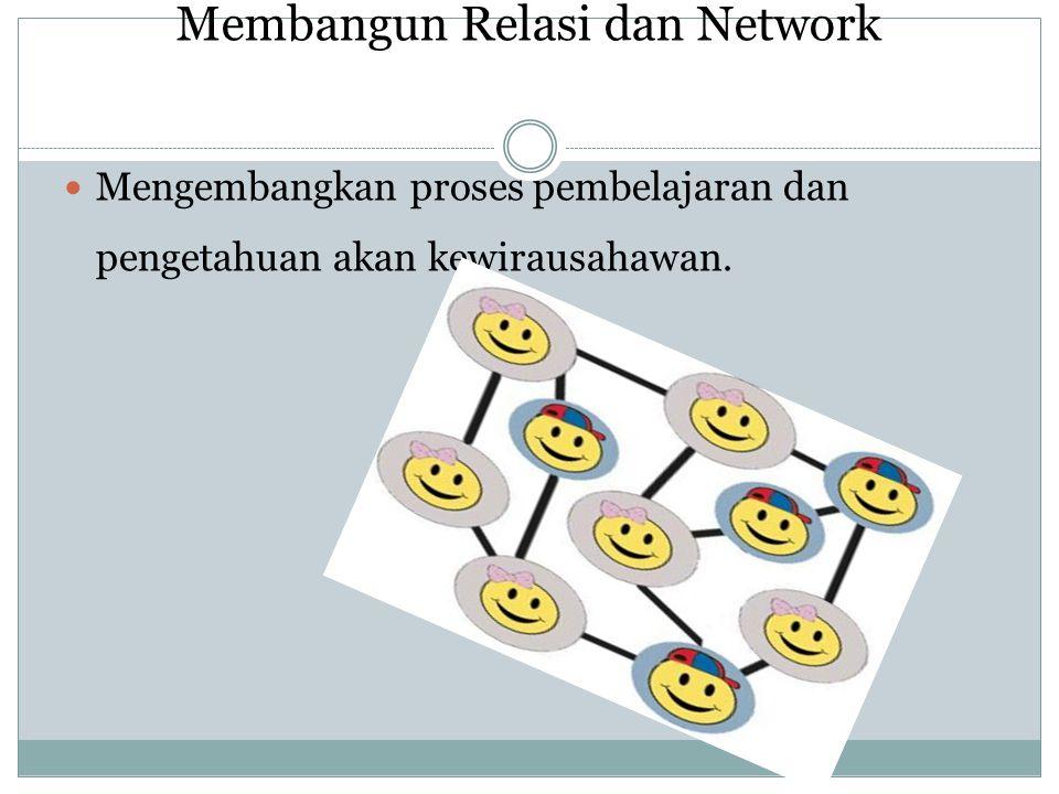 Membangun Relasi dan Network