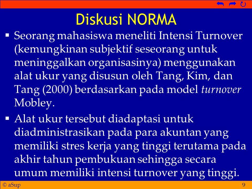 Diskusi NORMA