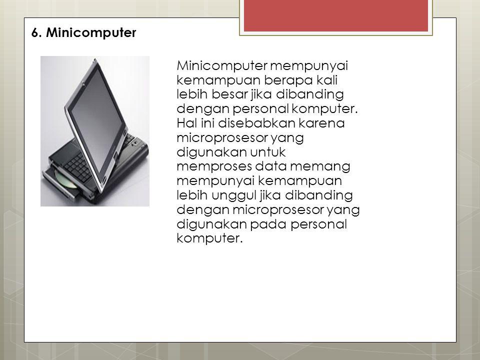 6. Minicomputer