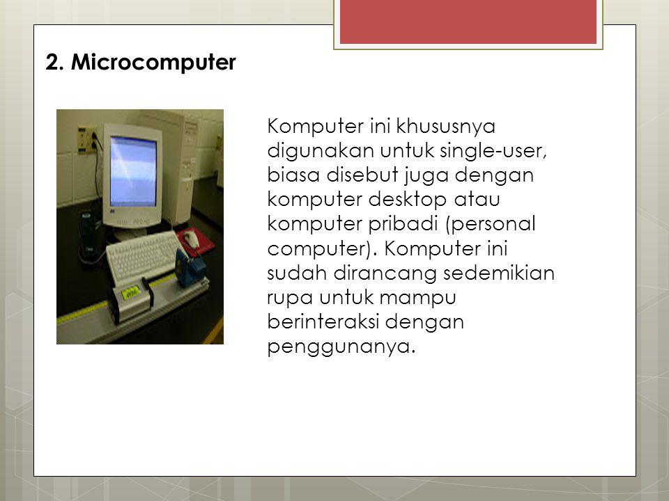 2. Microcomputer