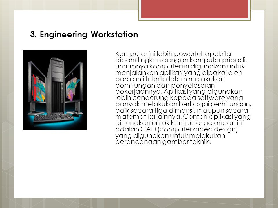 3. Engineering Workstation