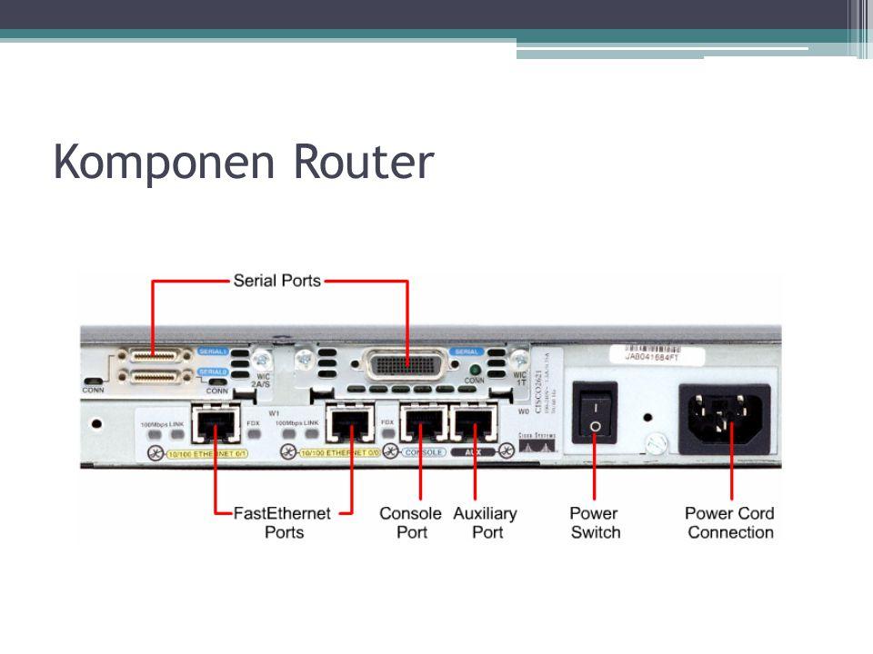 Komponen Router