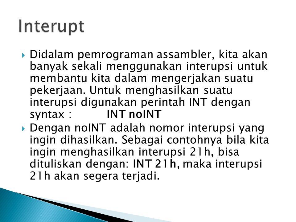 Interupt