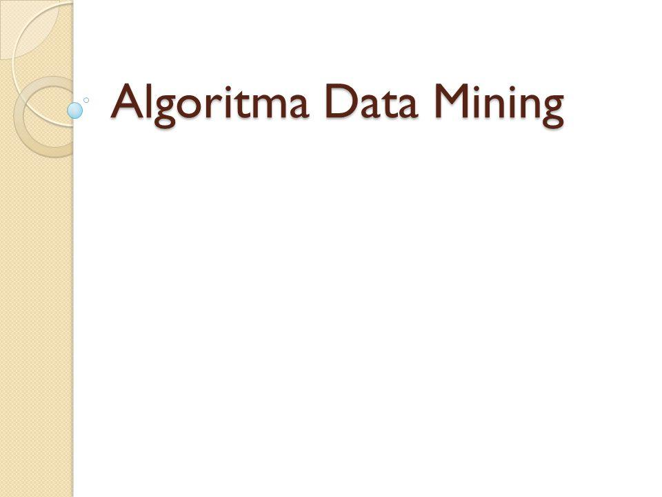 Algoritma Data Mining romi@romisatriawahono.net