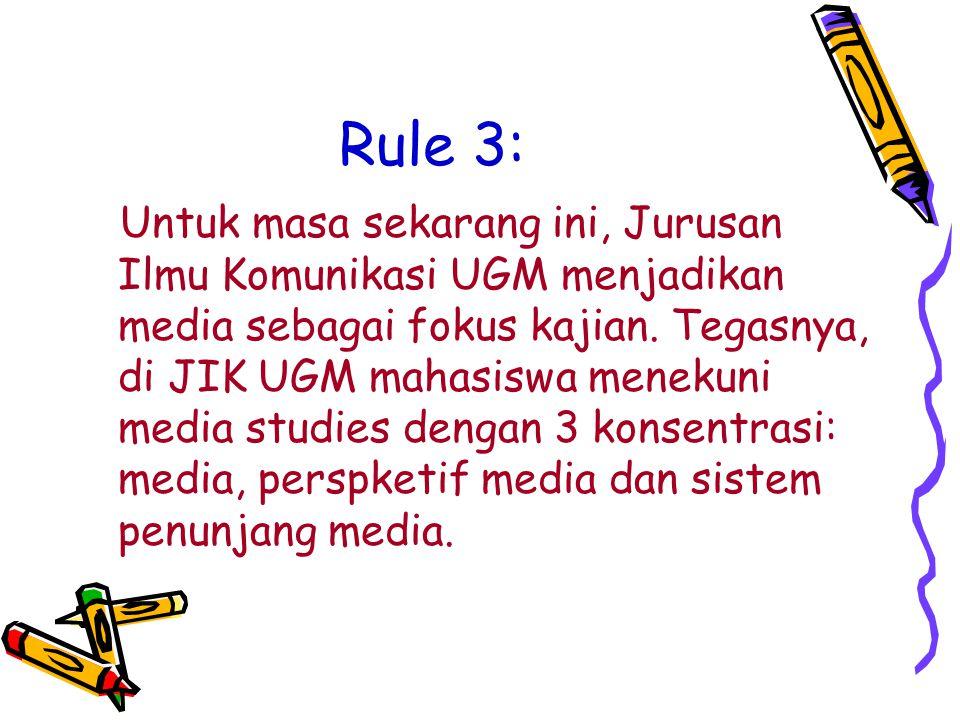 Rule 3: