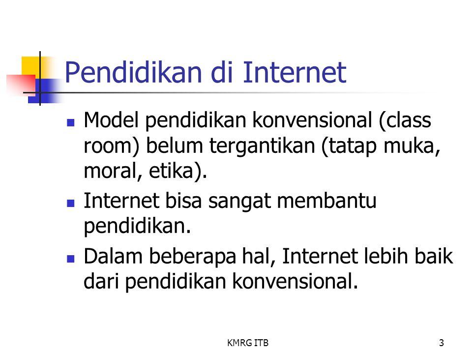 Pendidikan di Internet