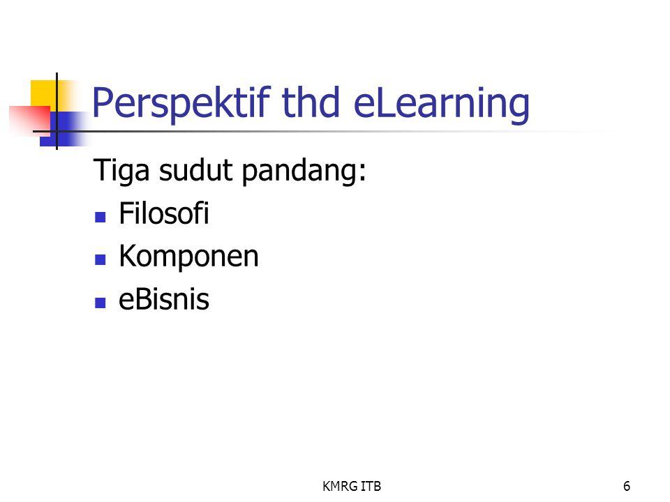 Perspektif thd eLearning