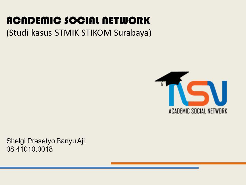 ACADEMIC SOCIAL NETWORK