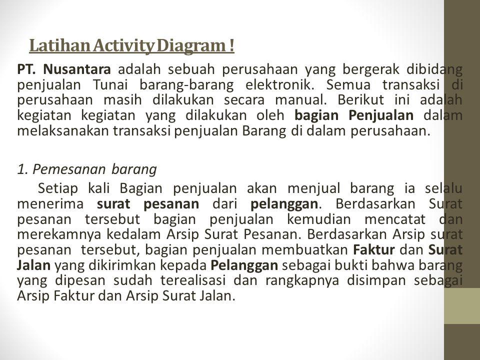 Latihan Activity Diagram !