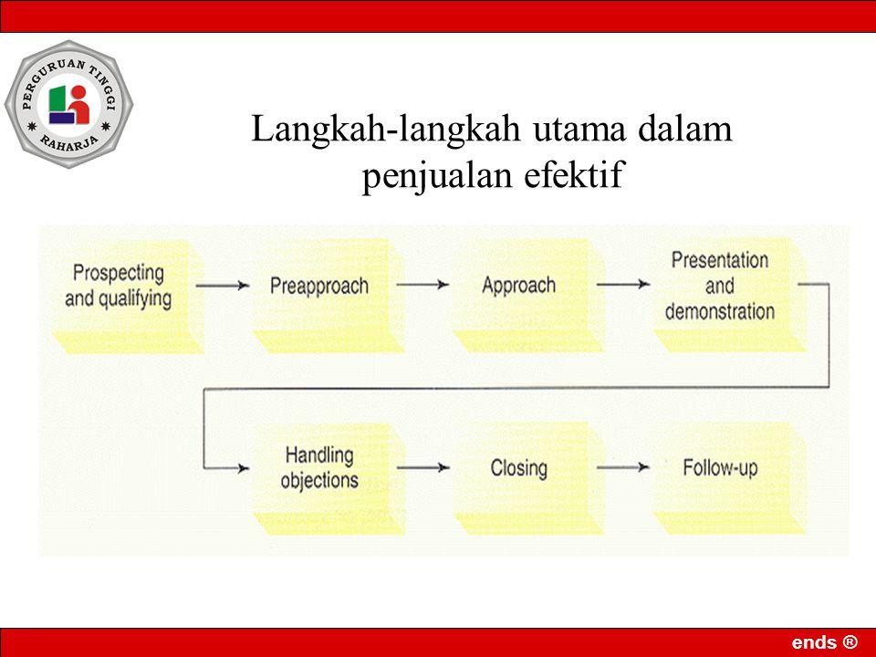 Langkah-langkah utama dalam penjualan efektif