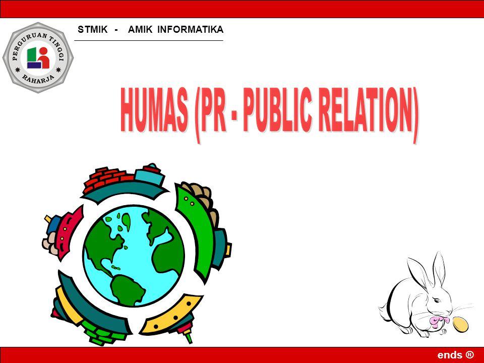 HUMAS (PR - PUBLIC RELATION)