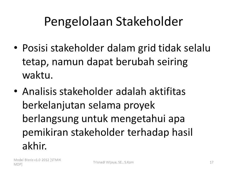 Pengelolaan Stakeholder
