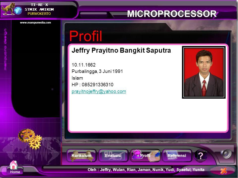 Profil Jeffry Prayitno Bangkit Saputra 10.11.1662