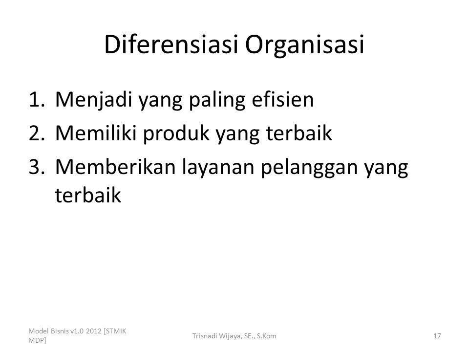 Diferensiasi Organisasi