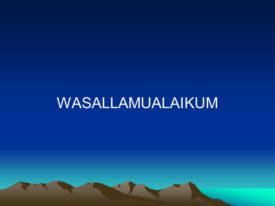 WASALLAMUALAIKUM