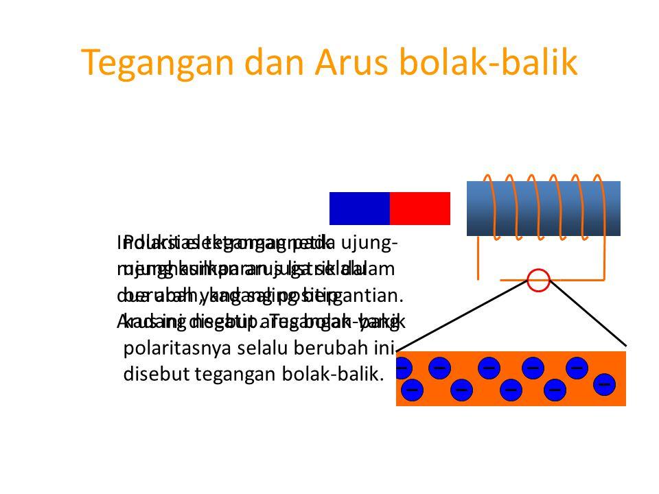 Tegangan dan Arus bolak-balik
