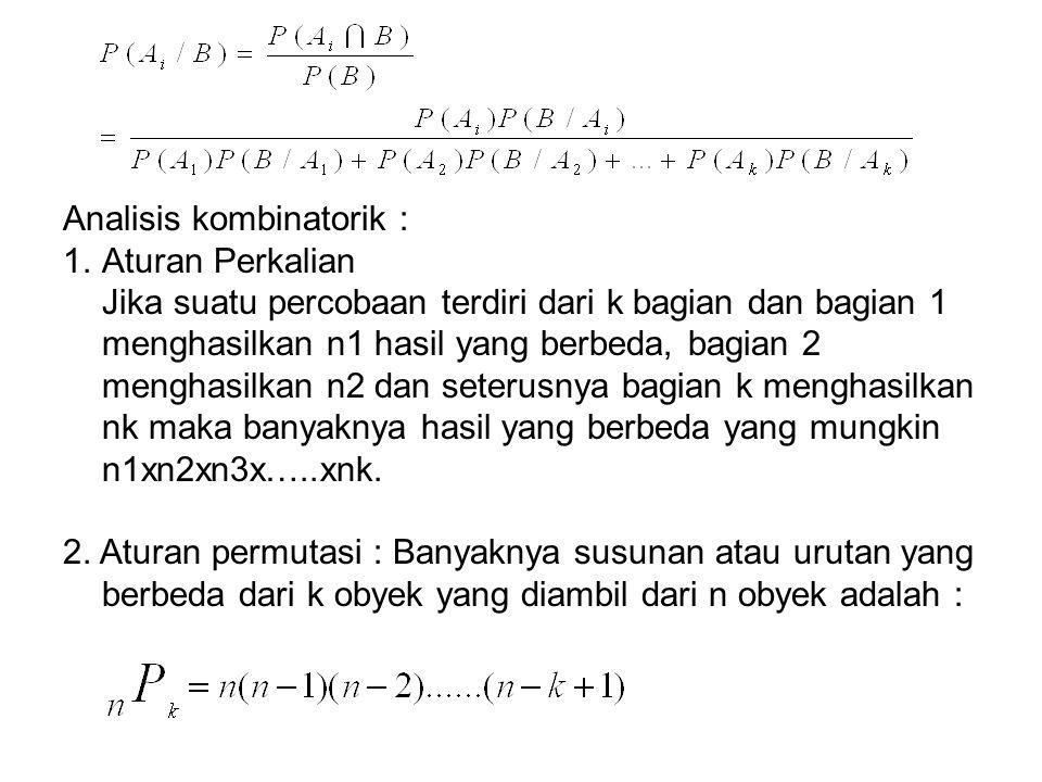 Analisis kombinatorik :