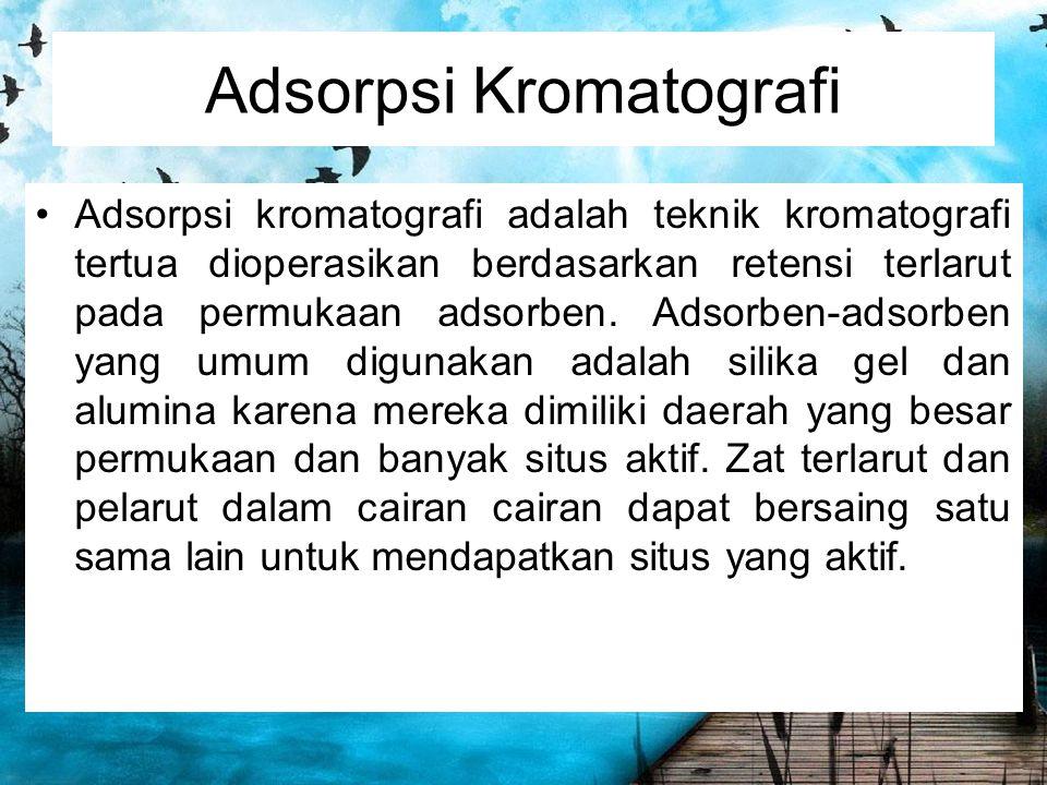Adsorpsi Kromatografi