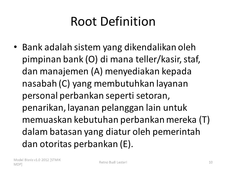Root Definition